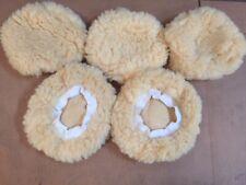 "5PCS 7"" 8"" Car Polisher Auto Bonnet Soft Wool Polishing Waxing Buffing Pad Cover"