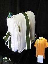 LACOSTE MESSENGER Shoulder Bag Casual 2.4 White (green strap)
