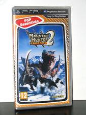 MONSTER HUNTER FREEDOM 2  PSP NUOVO UK ED. ESSENTIALS