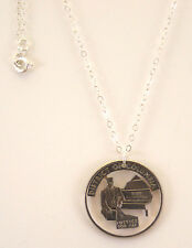 District of Columbia, Cut-Out Coin Jewelry, Necklace