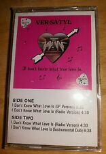 VER SA TYL   --- I DONT KNOW WHAT LOVE IS  ---   MEGA RARE INDIE R&B CASSETTES