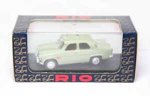 RIO SL020 Alfa Romeo Giulietta TI Reparto Mobile In Its Original Box - Mint 1:43
