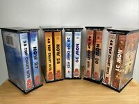 5 Now That's What I Call Music Cassettes Bundle 27 28 29 30 31 Tapes