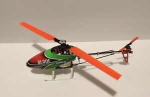 Upgraded Blade 130X (BLH3780) MicroHeli X-Frame w/Rotary Servos-Case Included