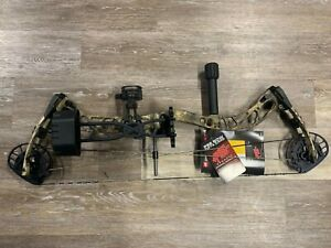 """PSE BRUTE NXT 37# to 70# RH 22½"""" to 30"""" Archery Compound Hunting Bow Package"""