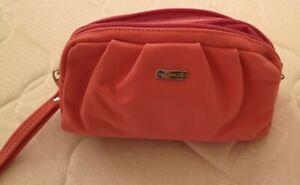Borsa porta trucchi Rosa color pesca Organizer Viaggio, Trousse Pochette