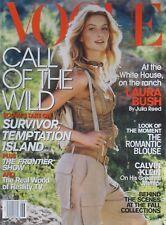 GISELE BUNDCHEN June 2001 VOGUE  Magazine CALVIN KLEIN  KAREN ELSON / DEVON AOKI