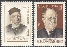 Russia 1962 Filatov/Burdenko/Medical/Health/Scientists/People 2v set (n43141)