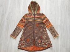 IVKO lambswool pure wool hooded zip vest top gillet cardigan jacket Mantel
