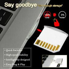 TF MicroSD Micro SD Card SDHC to SD Adapter MacBook Air Mini Drive Card Rea M6Y3