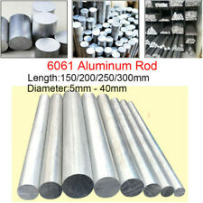 Φ130mm x 20mm ALUMINUM 6061 Round Rod 130mm Diameter Solid Lathe Bar Stock Cut