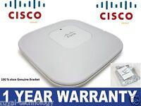 Cisco Aironet AIR-LAP1142N-E-K9 802.11n  2.0 Dual Band Access Point +Bracket