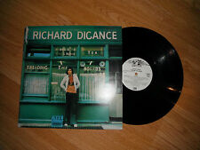 RICHARD DIGANCE TREADING THE BOARDS RARE FOLK LP 1975 EXC