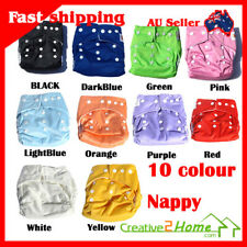Nappies +INSERT Adjustable Reusable Baby Washable Cloth Diaper Nappies