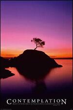 2x Poster Sonnenuntergang Romantik Strand Meer Palme Bett Wand  Deko 91x61 NEU