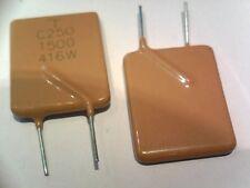 1.5A 250V resettable fuse PTC C250-1500 POLYSWITCH LOT-2pcs