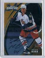 2002 Be A Player Signature Series Autographs Gold #71 Rostislav Klesla Auto