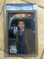 DOCTOR WHO BLACK DEATH WHITE LIFE #1 cgc 9.9 10th Doctor RRP PHOTO VARIANT