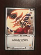 2012 Monsuno Trading Card Game #78 - Flame Fortress (Common)