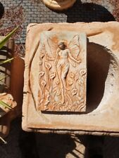 fairy plaque garden decor
