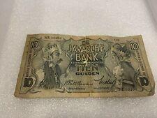 De Javasche Bank Tien Gulden   Banknoten 1937  10 Gulden Niederlande