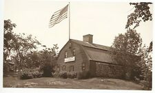 York ME Old Jail C. A. Townsend Photo RPPC Real Photo Postcard