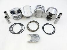 Premium Piston/Ring/Rod-Bearing Kit 88-95 1.5L CIVIC CRX Del Sol S D15B Std Size