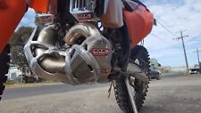 Exhaust Pipe Protector Guard & Bash Plate Fits KTM 300EXC TPI 2018