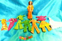"6"" 1970 BARBIE DOLL + CLOTHING & ACCESSORIES - MI Mattel - Loose Doll"