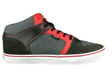 Vans Ellis Mid (Suede/Textile) Raven/Chili Pepper Men's Skate Shoes SIZE 11.5