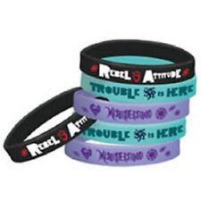 Descendants 2 Bracelets Party Rubber Bracelets 6 Pieces