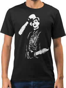 Marilyn Manson Salute Rock Icon Caricature New Mens T-shirt