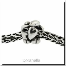 Authentic Trollbeads Sterling Silver 11144F Letter Bead F, Silver :0