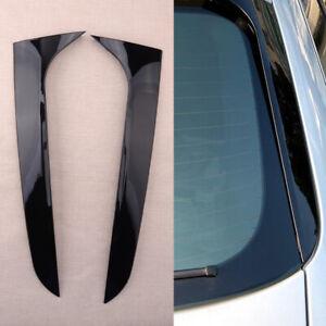 Pair Fit For Audi A4 B8 Allroad Avant 2009-2016 Rear Window Side Wing Spoiler