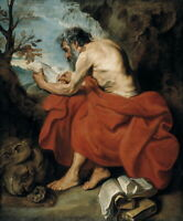 Anthony Van Dyck St Jerome Giclee Canvas Print Paintings Poster Reproduction