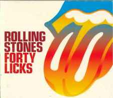 "THE ROLLING STONES ""Forty Licks"" 2CD-Album (Pappschuber)"