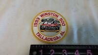 old vintage 1993 winston 500 talladega, AL alabama  racing patch