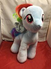 "Build A Bear My Little Pony Rainbow Dash Pegasus Plush 16"""