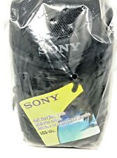 Sony LCS-VAC Soft Carrying Case & Strap For MiniDV & DVD & HDD Camcorders