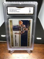 2019 Panini Contenders Zion Williamson #1 Draft Class Rookie Graded 9 Pelicans