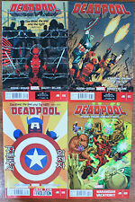 DEADPOOL #16-18 & 20 (2012 Series) all 1st prints & NM or better