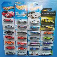 Hot wheels Diecast Toycar - PORSCHE Series - 911 GT3, 993 GT2, SPYDER, 934 TURBO