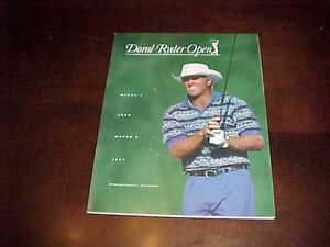 1997 Doral Ryder Open PGA Golf Program Tiger Woods Win Greg Norman Cover