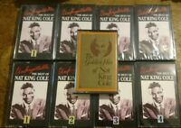 Nat King Cole - The best of music cassettes set of 4 Readers Digest New