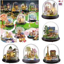 DIY Dollhouse Miniature 3D Doll House Clear Box Theatre Handcraft Miniature Toy