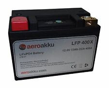 LiFePO 4 Batterie aeroakku LFP 400 x 12,8 V 400 A CCA 72wh 6ah
