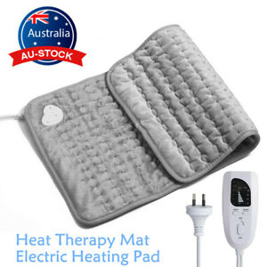 Electric Heating Pad Heat Therapy Feet Warmer Mat Neck Shoulder Back Pain Relief