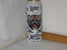 Miller Lite Brewed In California Irwindale CA Ltd. Ed. 24 FL OZ beer can btm opn
