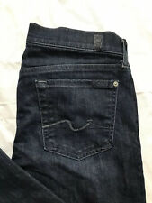 7 Seven For All Mankind Gwenevere Skinny Jeans Tag Size 28 Distressed Stretch