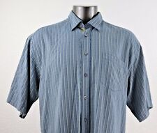 Bugatchi Uomo Men's Short Sleeve Shirt Size XXL
